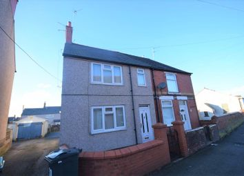 Thumbnail 2 bed semi-detached house for sale in Campbell Street, Rhosllanerchrugog, Wrexham