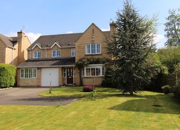 Thumbnail 5 bed detached house for sale in Goodman Close, Great Gonerby, Grantham