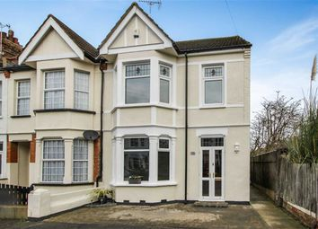 Thumbnail 3 bedroom end terrace house for sale in Shaftesbury Avenue, Southend On Sea, Essex