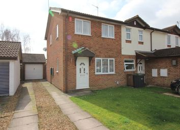 Thumbnail 2 bedroom end terrace house for sale in Harlestone Close, Luton