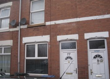 Thumbnail 2 bedroom terraced house for sale in Coronation Road, Coventry