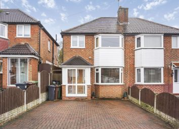 Thumbnail 3 bed semi-detached house for sale in Wiseacre Croft, Solihull