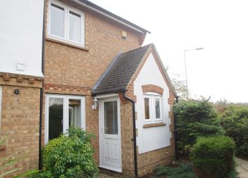 Thumbnail 2 bedroom end terrace house to rent in Harebell Close, Hertford