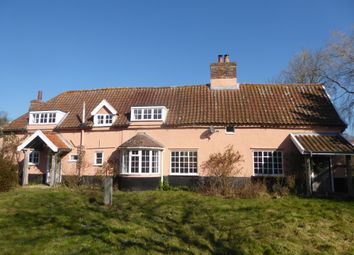 Thumbnail 4 bed farmhouse for sale in Beccles Road, Thurlton, Norwich