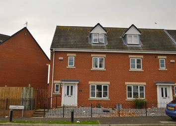 Thumbnail 4 bed town house to rent in Kingsbridge Crescent, Middlesbrough