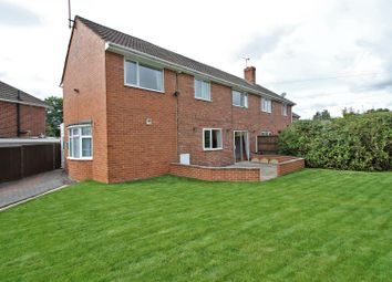 Thumbnail 3 bedroom semi-detached house for sale in Thorndale Road, Calverton, Nottingham
