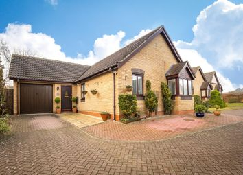 Thumbnail 3 bed detached bungalow for sale in Corvus Close, Royston