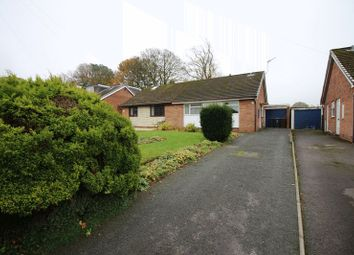 Thumbnail 2 bed semi-detached bungalow for sale in Crony Close, Cheddleton, Staffordshire