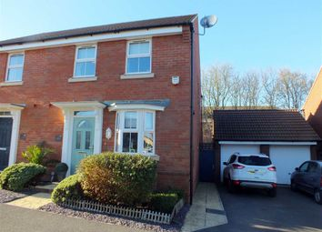 Thumbnail 3 bed semi-detached house for sale in Cossington Square, Westbury, Wiltshire