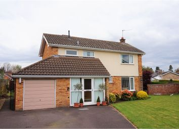 Thumbnail 4 bed detached house for sale in Allgold Drive, Shrewsbury