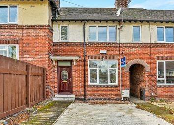 Thumbnail 3 bed terraced house to rent in Shirehall Crescent, Sheffield