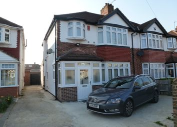 Thumbnail 4 bed semi-detached house to rent in Shelley Crescent, Heston