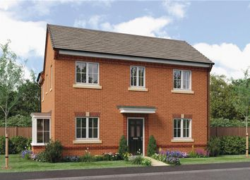 "Thumbnail 4 bed detached house for sale in ""Repton"" at Leeds Road, Thorpe Willoughby, Selby"