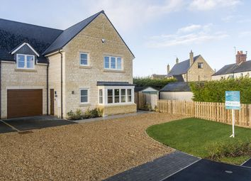 Thumbnail 4 bedroom link-detached house for sale in Birchwood, Southwick Road, Glapthorn, Peterborough