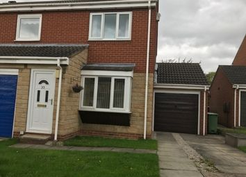 Thumbnail 2 bed semi-detached house to rent in Dimple Gardens, Ossett