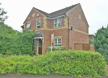 Thumbnail 3 bed semi-detached house to rent in Wardle Place, Oldbrook, Milton Keynes, Bucks