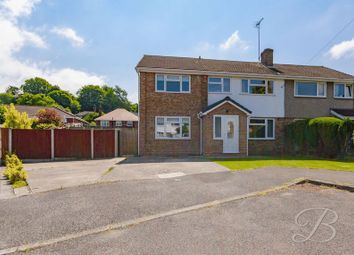 Thumbnail 4 bed semi-detached house for sale in Ely Close, Mansfield Woodhouse, Mansfield