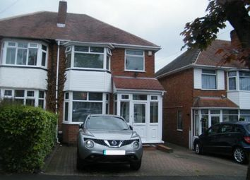 Thumbnail 3 bed semi-detached house for sale in Calverley Road, Birmingham, West Midlands