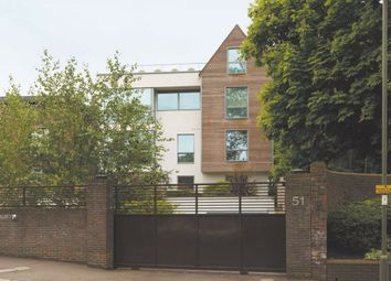 Thumbnail 4 bed flat for sale in West Heath Road, London