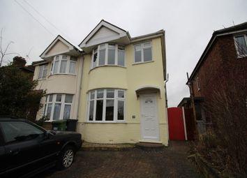 Thumbnail 3 bed semi-detached house to rent in Heathcote Road, Whitnash, Leamington Spa