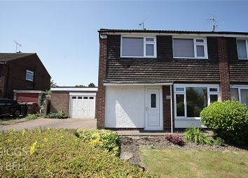 Thumbnail 3 bed semi-detached house for sale in Stanmore Crescent, Luton, Bedfordshire