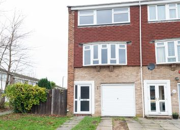 Thumbnail 3 bed terraced house to rent in Hatherley Road, Sidcup