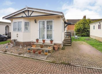 Thumbnail 2 bedroom mobile/park home for sale in Dogdyke Road, Conningsby