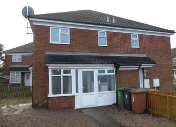 Thumbnail 1 bedroom terraced house for sale in Alconbury Close, Stanground, Peterborough