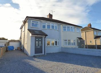 Thumbnail 3 bed semi-detached house for sale in Saville Road, Weston-Super-Mare