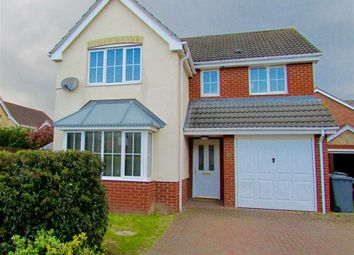 Thumbnail 4 bed detached house for sale in Jackson Close, Kesgrave, Ipswich