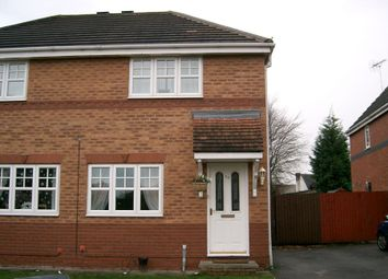 Thumbnail 3 bed semi-detached house to rent in Coleridge Close, Ettiley Heath, Sandbach, Cheshire