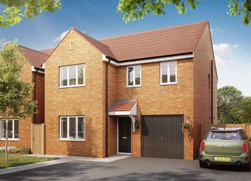 "Thumbnail 4 bed detached house for sale in ""The Downing"" at Bellona Drive, Peterborough"