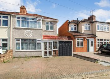 Thumbnail 3 bed end terrace house for sale in Heather Way, Rise Park, Romford