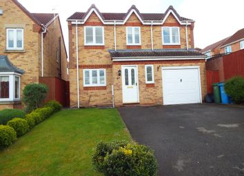 Thumbnail 4 bedroom detached house to rent in Blenhiem Rise, Gateford, Worksop