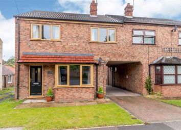 Thumbnail 3 bedroom semi-detached house for sale in Main Street, Tholthorpe, York