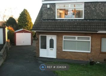 Thumbnail 3 bed semi-detached house to rent in Leyside Drive, Bradford