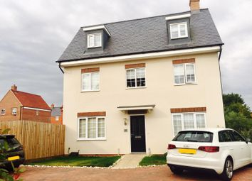 Thumbnail 4 bedroom detached house for sale in Bobbins Way, Buckingham