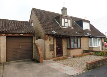 Thumbnail 2 bedroom semi-detached house for sale in Bell Gardens, Haddenham, Ely