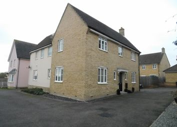 Thumbnail 4 bed detached house for sale in Dotterel Way, Stowmarket