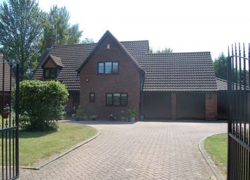 Thumbnail 4 bed detached house for sale in Galane Close, West Hunsbury, Northampton