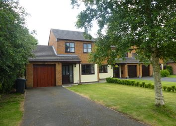 Thumbnail 3 bed detached house to rent in Meadow Close, Market Drayton