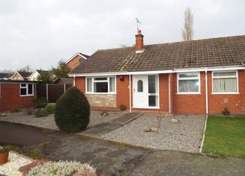 Thumbnail 2 bed bungalow for sale in Brine Road, Nantwich, Cheshire