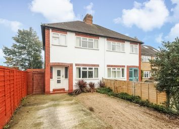 Thumbnail 4 bed semi-detached house to rent in Armstrong Road, Englefield Green