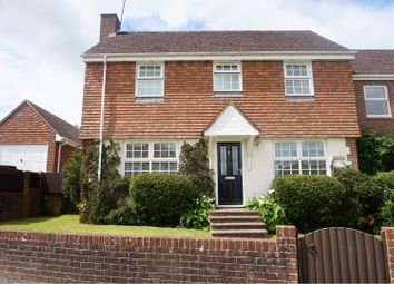 Thumbnail 3 bedroom semi-detached house for sale in The Ridge, Cowes