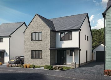 Thumbnail 4 bedroom detached house for sale in Plot 40, The 4 Bed Cennen Newton, Caswell, Swansea