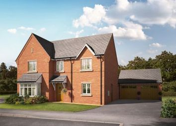 Thumbnail 4 bed detached house for sale in Knightley Road, Gnosall, Staffordshire