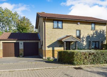 Thumbnail 4 bed detached house for sale in Oakley Gardens, Downhead Park, Milton Keynes