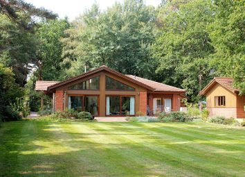 Thumbnail 4 bed detached bungalow for sale in Ameysford Road, Ferndown
