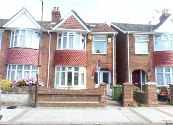 Thumbnail 4 bed end terrace house for sale in Stride Avenue, Portsmouth