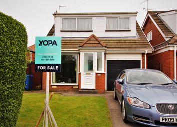 Thumbnail 3 bed detached house for sale in Moorland Avenue, Poulton-Le-Fylde